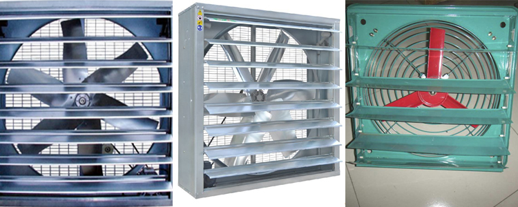 different type of poultry farm exhaust fan