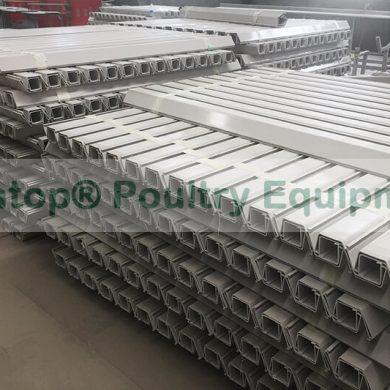 PVC chicken feeder trough
