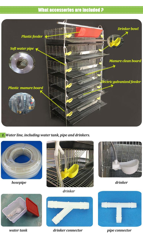 quail cage accessories