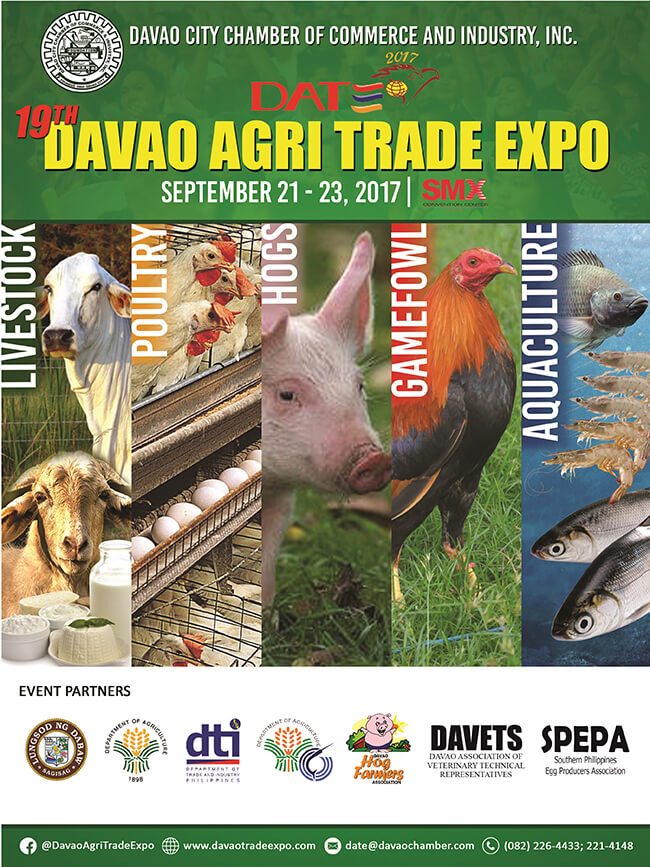 Hightop Will Participate in the 19th Davao Agri Trade Expo 2017